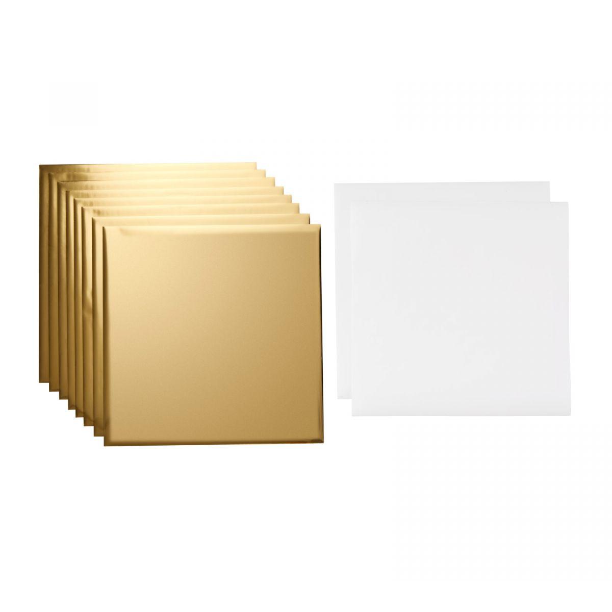 Feuilles de transfert Foil Cricut Gold