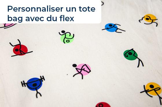 Personnaliser un tote bag avec du flex
