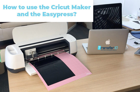 How to use the cricut maker and the easypress?