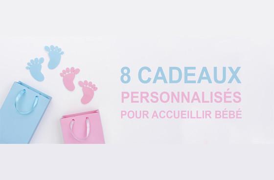 Naissance : 8 cadeaux personnalisés pour accueillir bébé